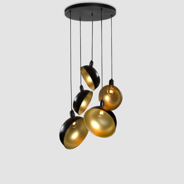 Soho Chandelier - Ebony